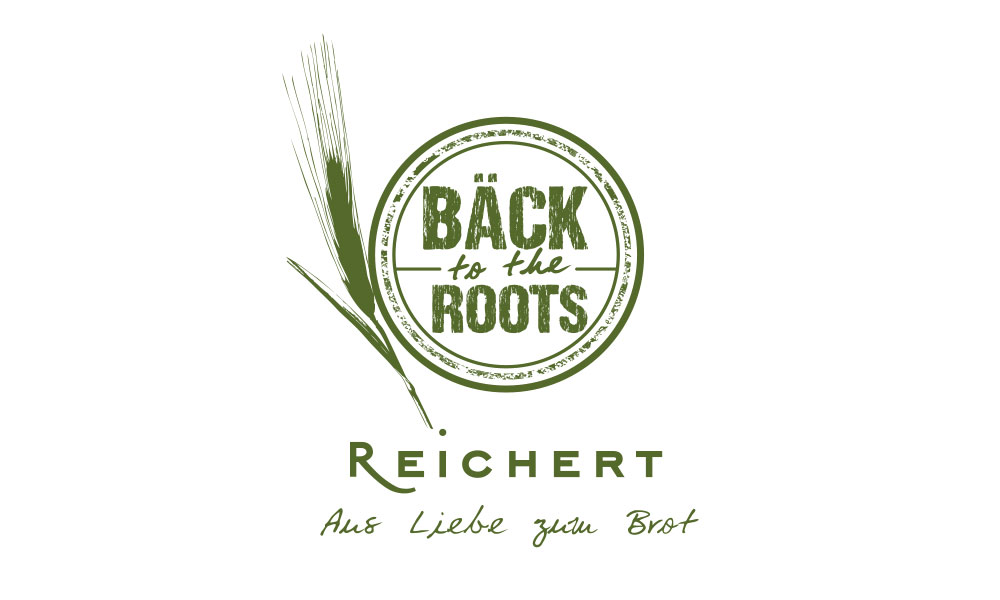 Bäck to the Roots - Siegel für eine Bäckerei